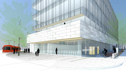 The institute's auditorium will be at Westlake Avenue North and Broad Street.