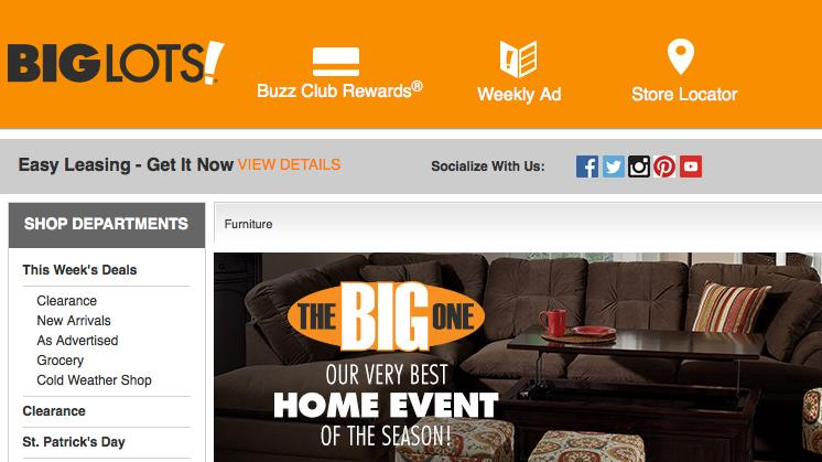 BigLots com to launch online sales in 2016, if all goes well