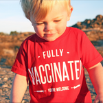 'Fully Vaccinated' shirt a hit for T-shirt startup