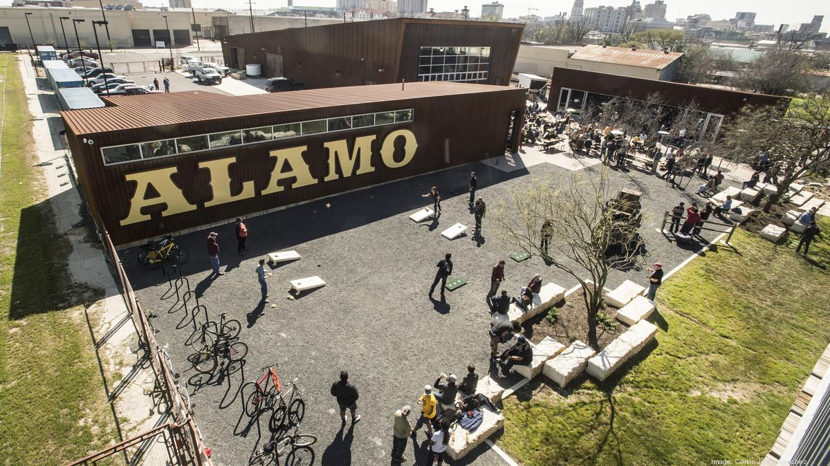 alamo beer 39 s new brewery complex is open for business On alamo craft company san antonio