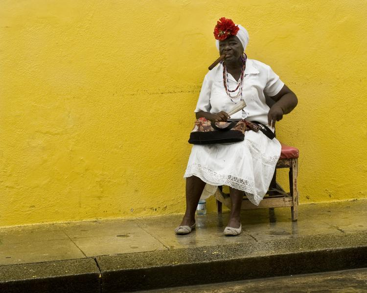 "Said photographer Rebecca Diniaco: ""A captivating woman in Old Havana."""