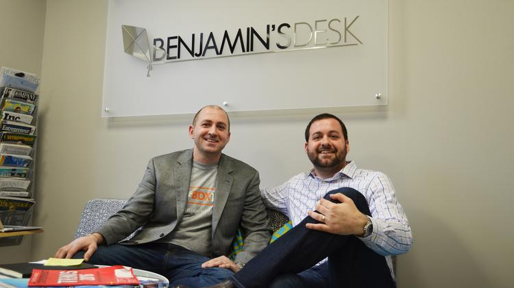Mike Maher Right Ped The Ceo Role At Benjamin S Desk Off To Brother Anthony