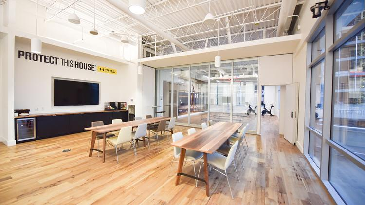 Under Armour will be opening a new office in Austin's Seaholm redevelopment. Click the image to launch a slideshow taking you on a tour of the new facility.