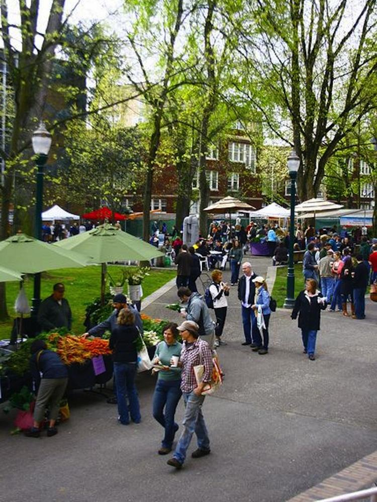 The Portland Farmers Market at Portland State University debuts Saturday in the South Park Blocks.