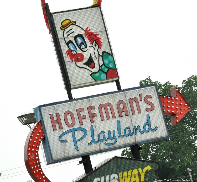Hoffman's Playland's iconic sign in Latham, NY.