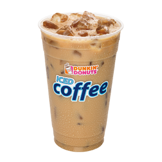 Ice cold: A pair of Dunkin' Donuts workers kept their cool, making sandwiches and cold drinks while a customer videotaped herself throwing racial slurs at them.