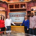 Comcast Network launches new sports morning show 'Breakfast on Broad'