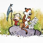 Calvin and Hobbes retrospective, with <strong>Bill</strong> <strong>Watterson</strong> interview, published to commemorate OSU exhibition