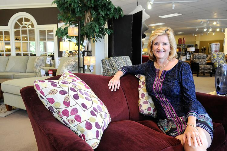Liz Reego, co-owner, La-Z-Boy Furniture Galleries.