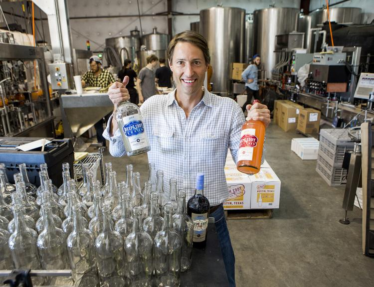 Co-founder Clayton Christopher added a second shift in N. Austin and plans to build a new distillery southwest of town.
