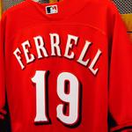 Will Ferrell is on deck for the Cincinnati Reds today