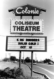 Long Gone: The Coliseum Theatre in Latham. It later became the Starlite and closed in 1997.