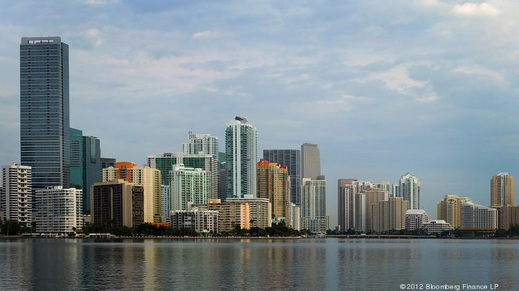 Miami, Florida. Would you want to live there rather than New York?
