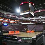 It takes 7 hours to prep an arena for an NCAA basketball game (but you can watch it in 104 seconds) (Video)