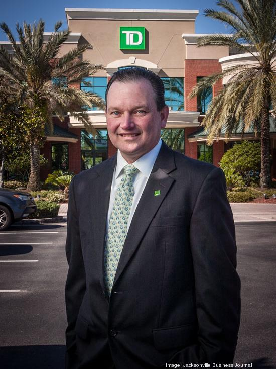 Mike Nursey has been promoted to TD Bank's market president for Central Florida.