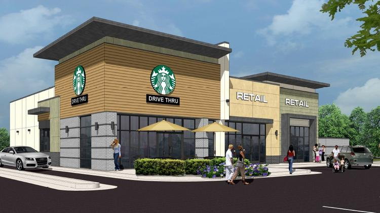Two Starbucks Anchored Retail Centers Coming To Durham Plus