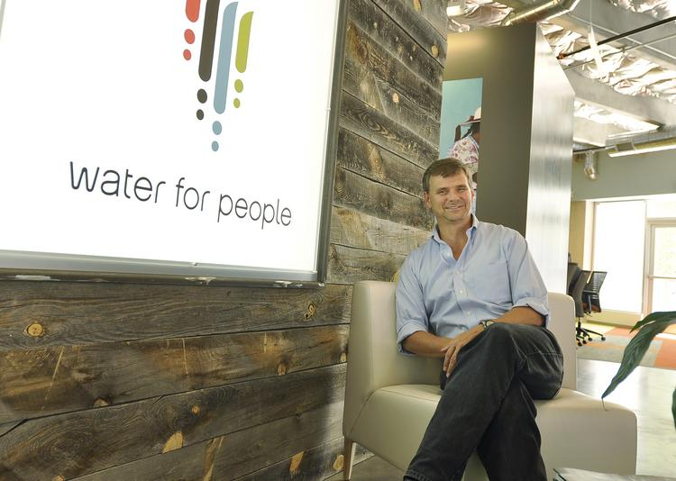 Ned Breslin became CEO of Water for People in 2009. Before joining the organization in 2006, he's spent 20 years in Africa working on water issues.