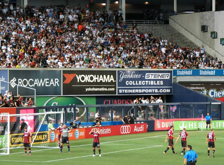 Yankee Stadium has hosted multiple soccer matches before, but as of now it won't serve as the new MLS team's permanent home.