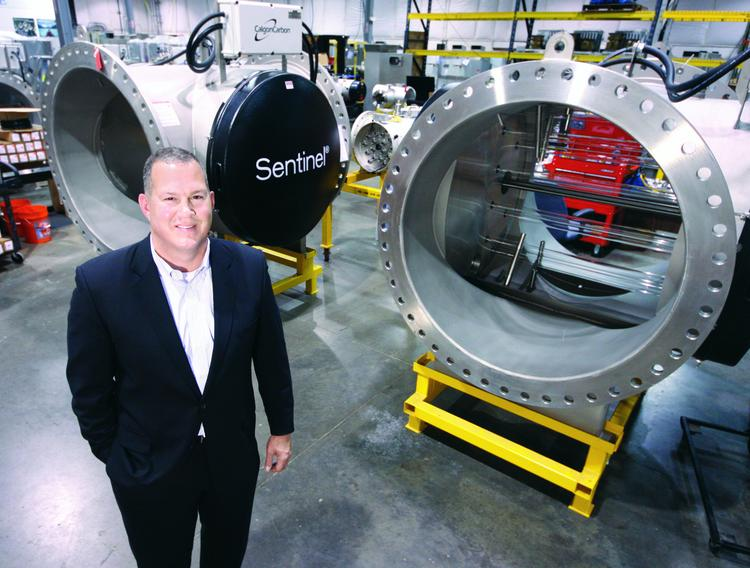 Randy Dearth, CEO of Calgon Carbon Corp., is leading the company's three-phase plan to save $30 million.