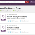 Mary Kay files suit against RetailMeNot over online coupons