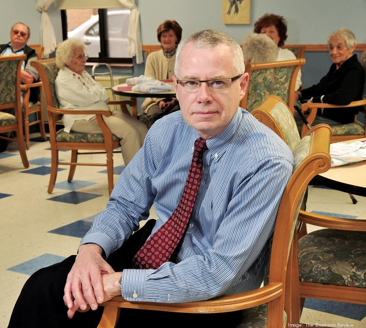 Tim Bartos, CEO of Baptist Health in Scotia, is overseeing the development of a new senior campus to meet demands of a rapidly aging population.