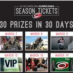 Carolina Hurricanes to give away 2-game road trip with team