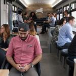 In San Francisco, startups launch upscale buses