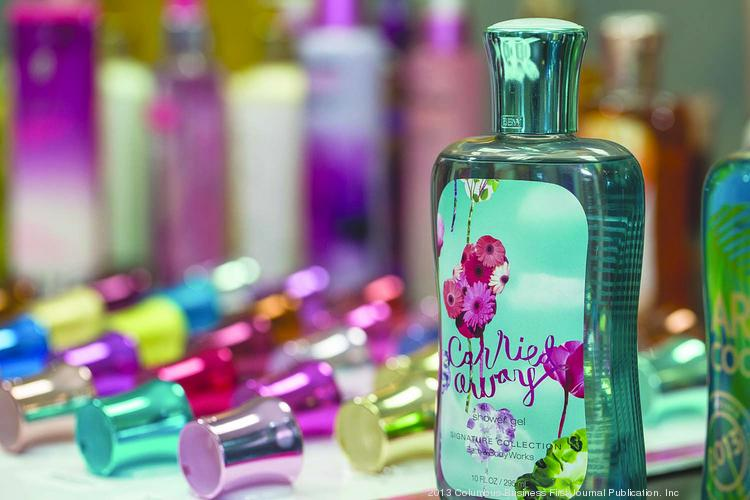 Anomatic makes the tops for products such as Bath and Body Works' shower gel.