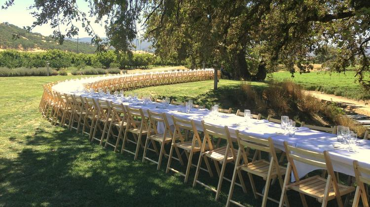 Outstanding In The Field Returns To Capay Organic For Farm Dinner - Farm to table sacramento