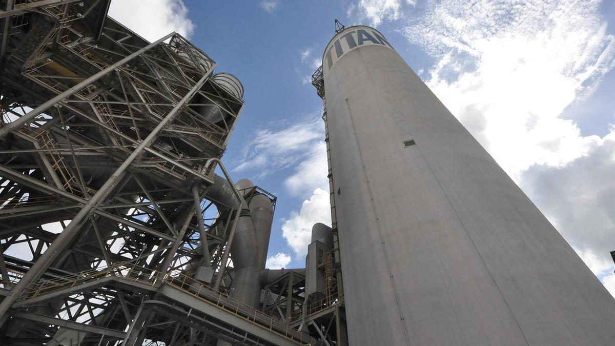 Biggest Concrete Plant In The Usa : Titan america pulls plug on plan for million cement