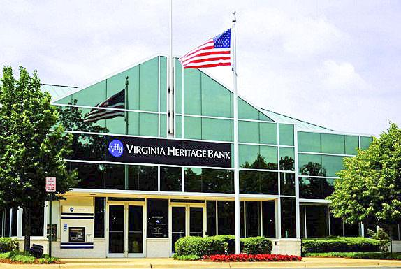 Virginia Heritage Bank priced its stock offering at $14.25 per share.