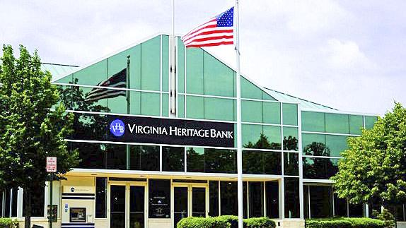 Virginia Heritage Bank, in the process of being acquired by Bethesda-based Eagle Bancorp, had second quarter net income of $2 million.