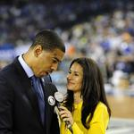 Prep session with CBS' Tracy Wolfson