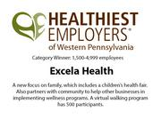 Healthiest Employers of Western Pennsylvania 2013.