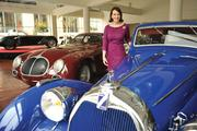 Elisa Stephens uses her dad's multi-million-dollar auto collection to teach design students about classic styling.