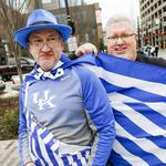 UK turns heads downtown as March Madness takes over Louisville (slideshow)