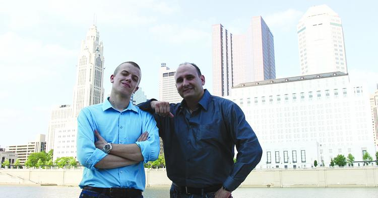 Nate Marshall, left, and Greg Kaple founded Nvision Performance Solutions.