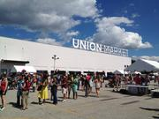 This summer, Union Market will use the parking lot in front of its warehouse-turned-artisan market to host four drive-in style movies.