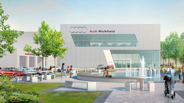 Wisconsin Group Plans Big Audi Dealership On Interstate - Minneapolis audi