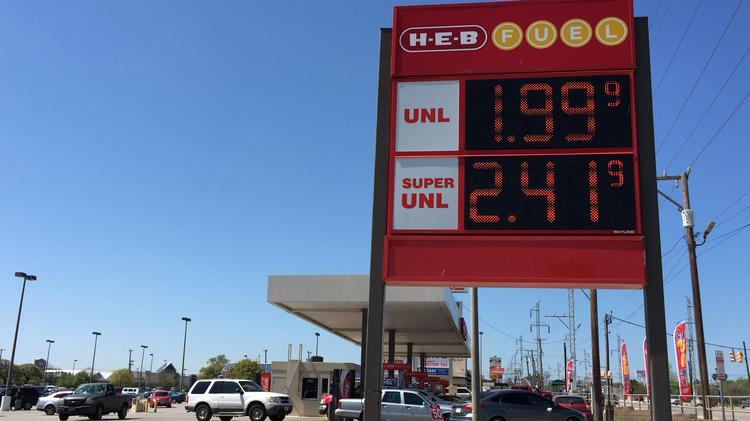 San Antonio Gas Prices >> Gasoline Prices Dip Below 2 Per Gallon In San Antonio San