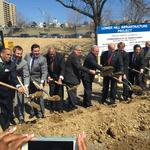 Gov. Tom Wolf joins local officials at Lower Hill groundbreaking (Video)