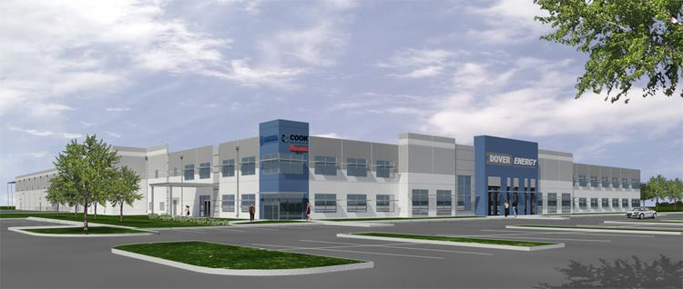 Dover Energy's planned facility in Pearland is expected to be complete in February 2014.