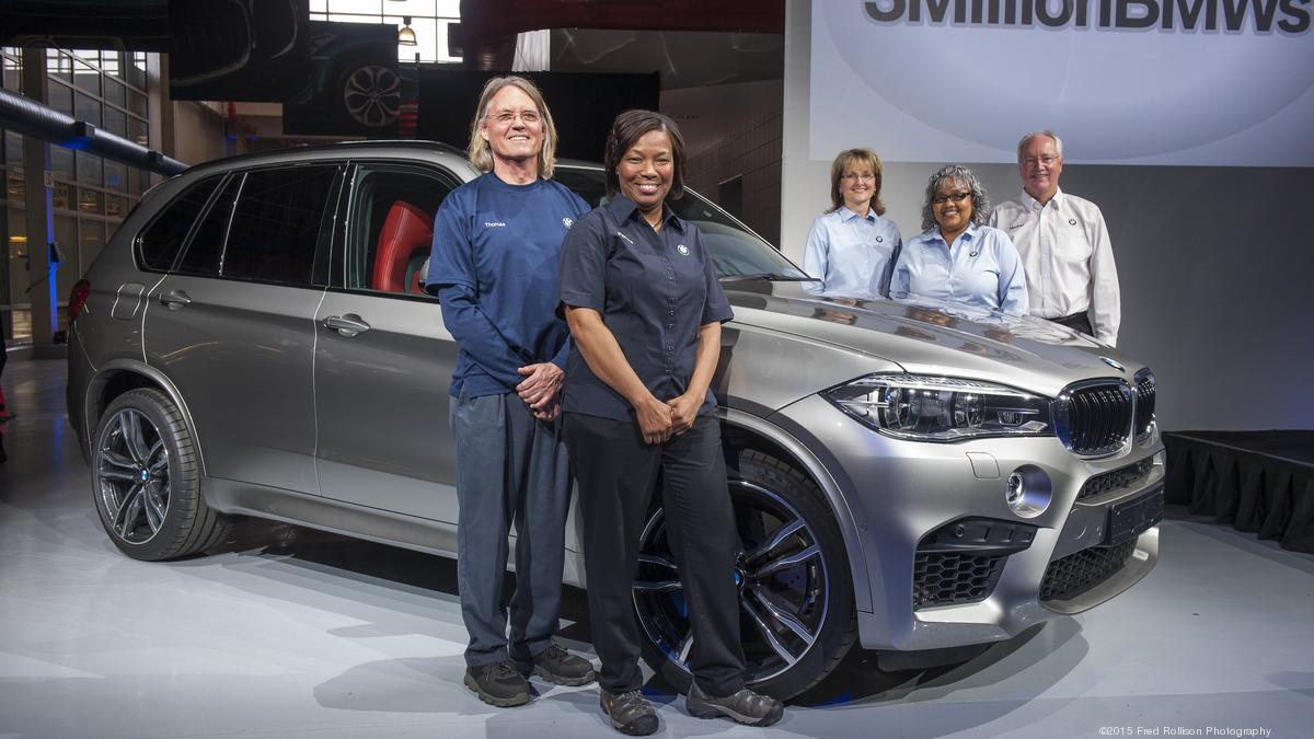 Bmw manufacturing co in south carolina makes its 3 millionth car charlotte business journal