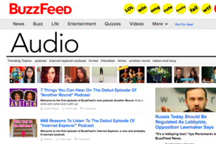 Podcasts almost never go viral, but here comes BuzzFeed