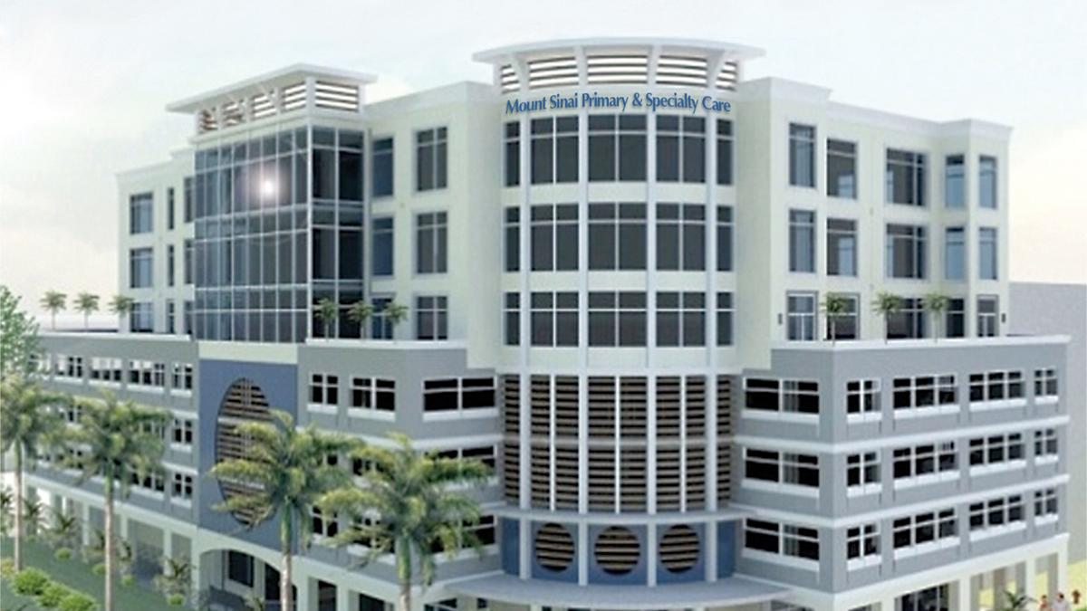 Mount Sinai Medical Center to open doctor's office in Sunny Isles