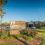 Business park up for auction