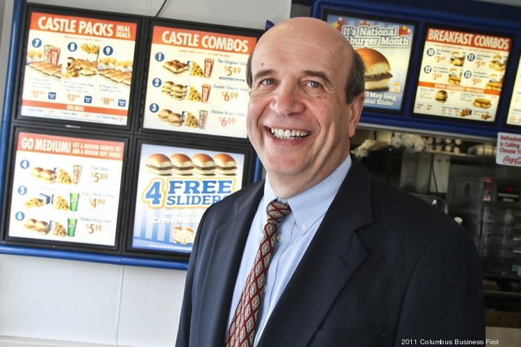 Nicholas Zuk takes time every now and then to serve Sliders at White Castle restaurants.