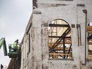 Sullivan & Cozart Inc. is the contractor on the Angel's Envy distillery, which is under construction downtown now.