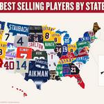 Check out the the most popular throwback jerseys — by state