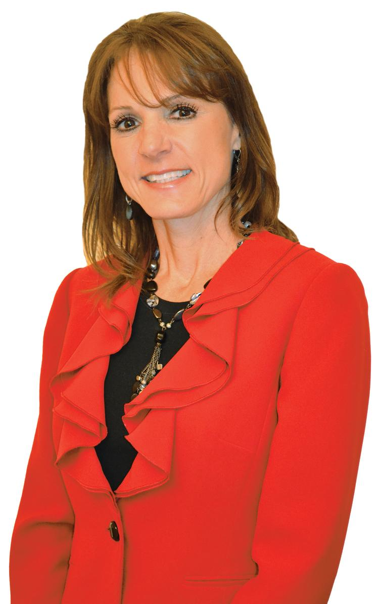 Elizabeth Blose, CFO and division director for fi nance and business strategy, Intrust Bank.